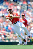 May 31, 2014, Texas Rangers vs Washington Nationals - Anthony Rendon Photographic Print by Greg Fiume
