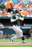 Jun 8, 2014, Oakland Athletics vs Baltimore Orioles - Brandon Moss Photographic Print by Greg Fiume