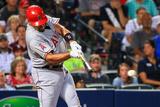 Jun 13, 2014, Los Angeles Angels of Anaheim vs Atlanta Braves - Albert Pujols Photographic Print by Daniel Shirey