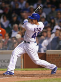 Jun 5, 2014, New York Mets vs Chicago Cubs - Anthony Rizzo Photographic Print by Jonathan Daniel