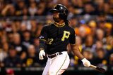 2013 Wild Card Game: Oct 1, Cincinnati Reds vs Pittsburgh Pirates - Andrew McCutchen Photographic Print by Jared Wickerham
