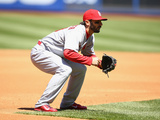 Apr 24, 2014, St Louis Cardinals vs New York Mets - Matt Carpenter Photographic Print by Al Bello