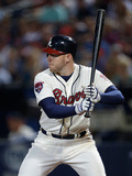 Apr 12, 2014, Washington Nationals vs Atlanta Braves - Freddie Freeman Photographic Print by Mike Zarrilli