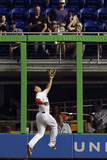 May 30, 2014, Atlanta Braves vs Miami Marlins - Giancarlo Stanton Photographic Print by Eliot J. Schechter