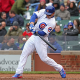 May 16, 2014, Milwaukee Brewers vs Chicago Cubs - Anthony Rizzo Photographic Print by Jonathan Daniel