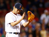Jun 12, 2014, Cleveland Indians vs Boston Red Sox - Koji Uehara Photographic Print by Jared Wickerham