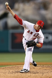 Jul 3, 2013, St Louis Cardinals vs Los Angeles Angels of Anaheim - Garrett Richards Photographic Print by Jeff Gross