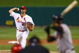 May 30, 2014, San Francisco Giants vs St. Louis Cardinals - Adam Wainwright Photographic Print by Dilip Vishwanat
