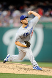 May 6, 2014, Los Angeles Dodgers vs Washington Nationals - Clayton Kershaw Photographic Print by Greg Fiume