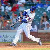 Jun 6, 2014, Miami Marlins vs Chicago Cubs - Anthony Rizzo Photographic Print by Jonathan Daniel