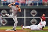 Jun 2, 2014, New York Mets vs Philadelphia Phillies - Daniel Murphy, Marlon Byrd Photographic Print by Drew Hallowell