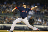 Apr 11, 2014, Boston Red Sox vs New York Yankees - Jon Lester Photographic Print by Al Bello