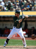Apr 20, 2014, Houston Astros vs Oakland Athletics - Brandon Moss Photographic Print by Brad Mangin