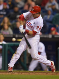 May 28, 2014, Colorado Rockies vs Philadelphia Phillies - Chase Utley Photographic Print by Drew Hallowell
