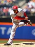Apr 6, 2013, Cincinnati Reds vs New York Mets - Alfredo Simon Photographic Print by Al Bello