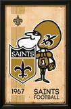 New Orleans Saints - Retro Logo 14 Prints