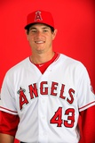 Los Angeles Angels Photo Day: Feb 26, 2014 - Garrett Richards Photographic Print by Jamie Squire