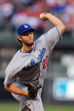 May 23, 2014, Los Angeles Dodgers vs Philadelphia Phillies - Clayton Kershaw Photographic Print by Drew Hallowell