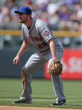 May 4, 2014, New York Mets vs Colorado Rockies - Daniel Murphy Photographic Print by Doug Pensinger
