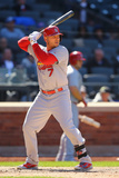 Apr 24, 2014, St Louis Cardinals vs New York Mets - Matt Holliday Photographic Print by Al Bello