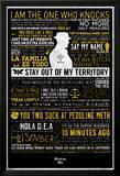 Breaking Bad - Typographic Kunstdruck