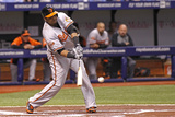 May 8, 2014, Baltimore Orioles vs Tampa Bay Rays - Nelson Cruz Photographic Print by Brian Blanco