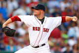 Jun 17, 2014, Minnesota Twins vs Boston Red Sox - Jon Lester Photographic Print by Jared Wickerham