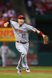 Apr 8, 2014, Cincinnati Reds vs St. Louis Cardinals - Todd Frazier Fotodruck von Dilip Vishwanat