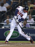 Jun 16, 2014, Philadelphia Phillies vs Atlanta Braves - Freddie Freeman Photographic Print by Mike Zarrilli