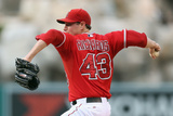 Sep 2, 2013, Tampa Bay Rays vs Los Angeles Angels of Anaheim - Garrett Richards Photographic Print by Jeff Gross