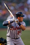 May 12, 2012, Detroit Tigers vs Oakland Athletics - Miguel Cabrera Photographic Print by Brad Mangin