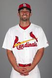 2014 St. Louis Cardinals Photo Day: Feb 24 - Matt Carpenter Photographic Print by Eliot J. Schechter