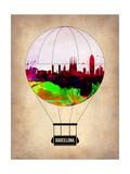 Barcelona Air Balloon 2 Prints by  NaxArt
