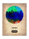 San Antonio Air Balloon Prints by  NaxArt