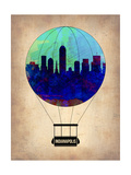 Indianapolis Air Balloon Prints by  NaxArt