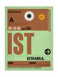 NaxArt - IST Istanbul Luggage Tag 2 - Reprodüksiyon