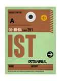 IST Istanbul Luggage Tag 2 Prints by  NaxArt