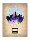 Kuala Lumpur Air Balloon Print by  NaxArt
