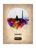 Washington, D.C. Air Balloon Posters by  NaxArt