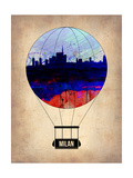 Milan Air Balloon Art by  NaxArt