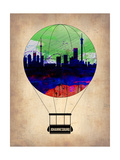 Johannesburg Air Balloon Prints by  NaxArt