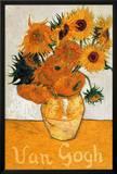 Les Tournesols Prints by Vincent van Gogh