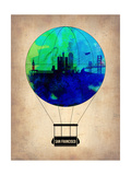 San Francisco Air Balloon Prints by  NaxArt