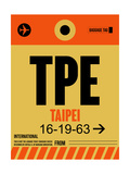 TPE Taipei Luggage Tag 2 Prints by  NaxArt