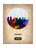 San Diego Air Balloon Poster by  NaxArt