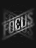 Focus Serigraph by  Delicious Design League