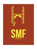 SMF Sacramento Poster 1 Poster by  NaxArt