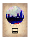 Barcelona Air Balloon Posters by  NaxArt