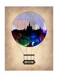 Moscow Air Balloon Posters by  NaxArt