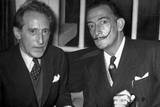 Jean Cocteau and Salvador Dali Photo